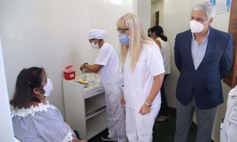 Inició la vacunación contra Covid-19 para pacientes trasplantados